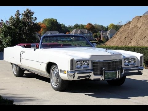 Cadillac Convertible 2015 >> 1971 Cadillac Eldorado For Sale - YouTube