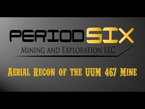 Aerial Exploration of the 467 Gold Mine - Adjust your video settings to 4K