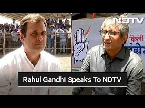 My Fight Is Against Ideology Of Hate, Rahul Gandhi Tells NDTV's Ravish Kumar | EXCLUSIVE