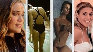 Самые красивые спортсменки. Плавание (KAZAN 2015 TV)