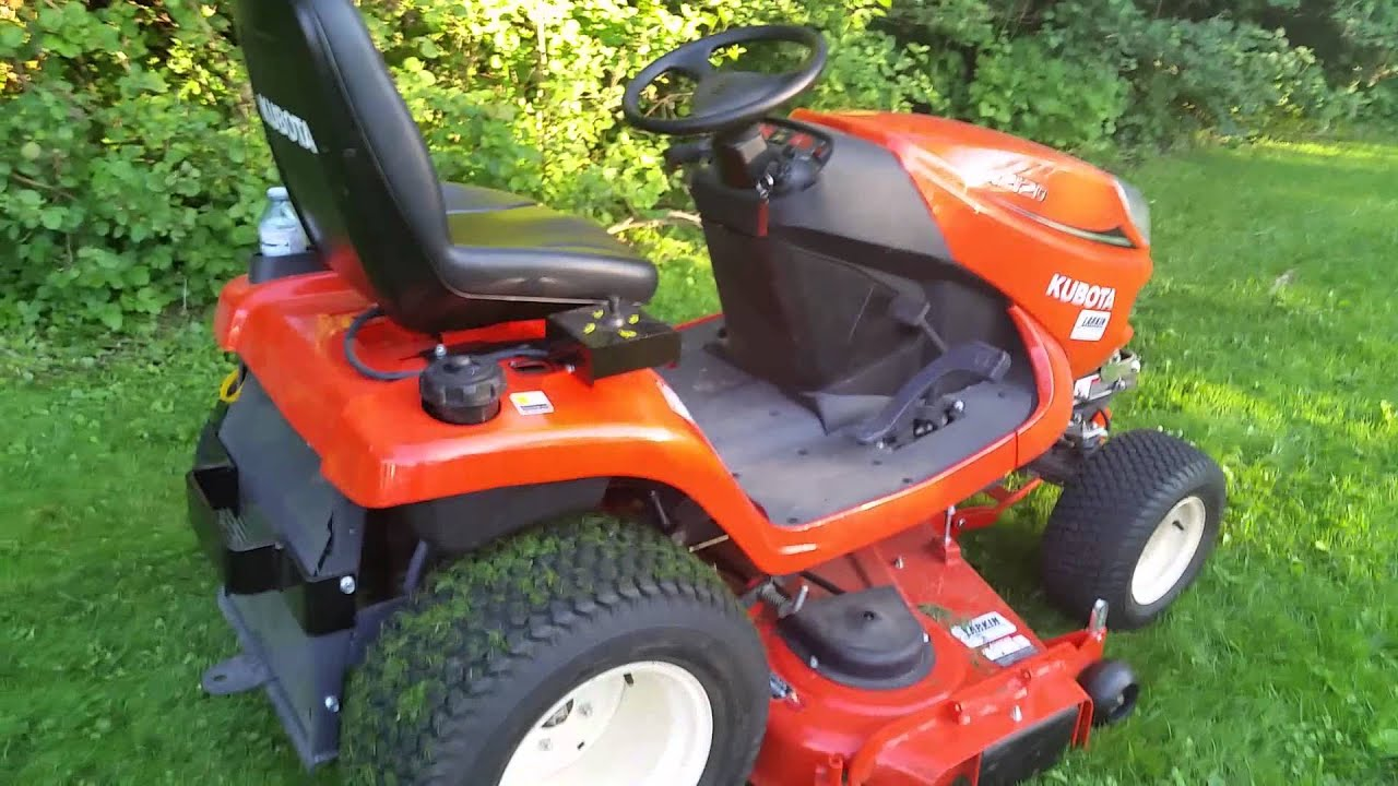 kubota gr 2120 youtube