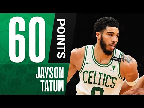 Download Jayson Tatum TIES FRANCHISE-RECORD 60 PTS in Comeback WIN! 🔥