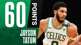 Jayson Tatum TIES FRANCHISE-RECORD 60 PTS in Comeback WIN! 🔥