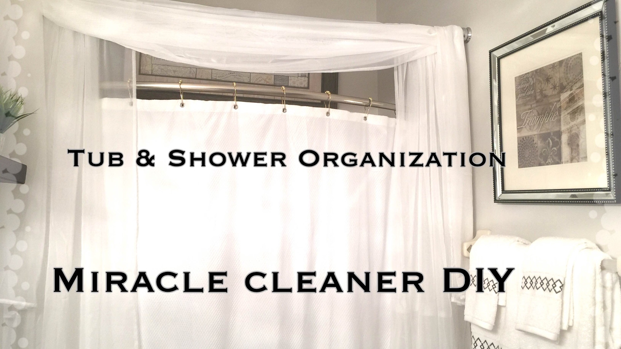 Bathroom Organization|Shower & Tub Organization|VD#2 - YouTube