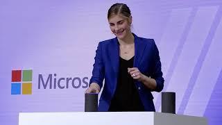 Cortana Alexa demo at BUILD 2018