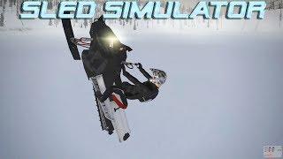 Sled Simulator 0.2.1 Alpha | Snowmobile Simulation Game | PC Snowmobile Game