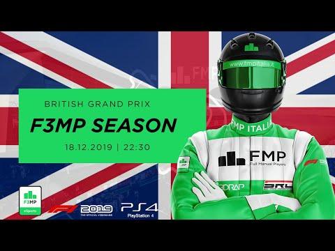 F3MP | OPENING SEASON #10 | BRITISH GRAND PRIX FMP ITALIA