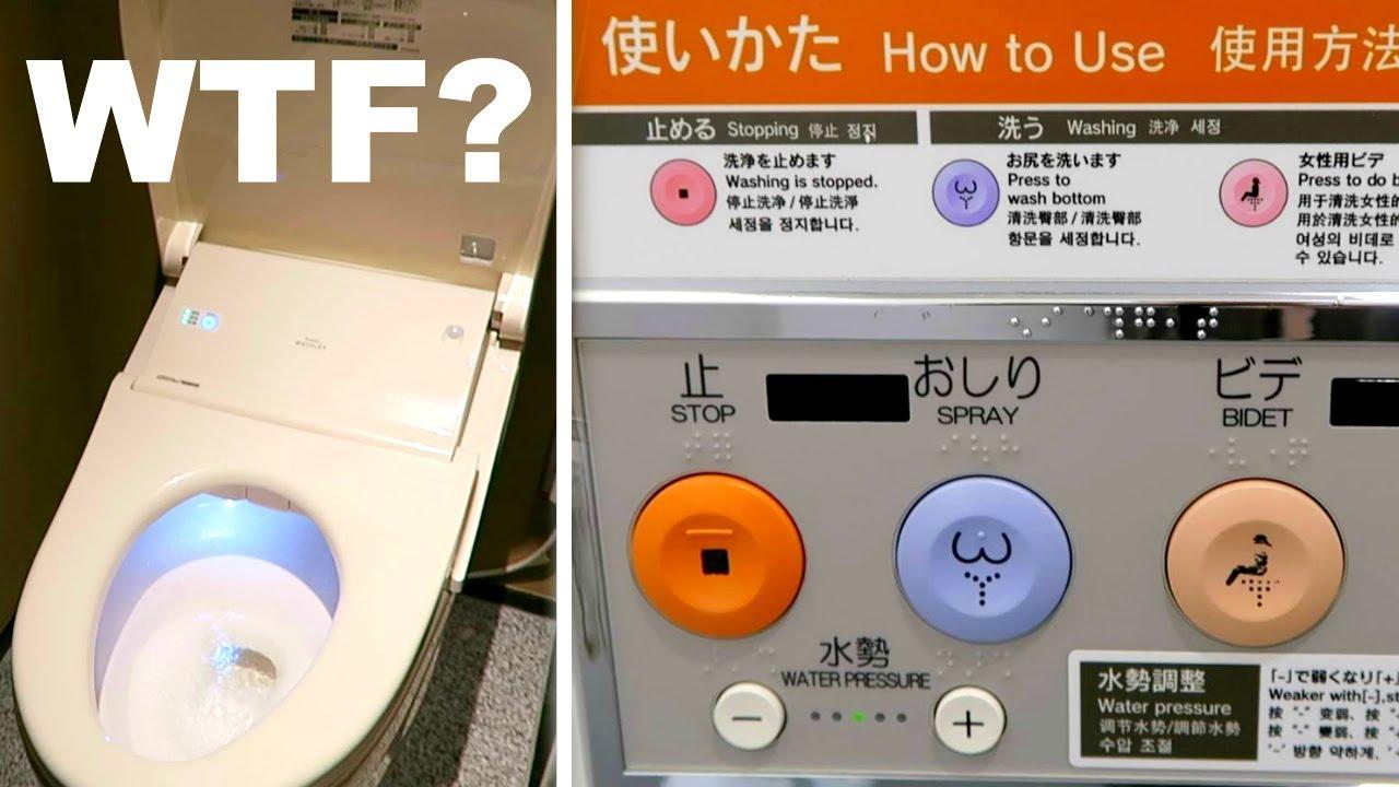 How To Use Japanese Toilets Properly Youtube