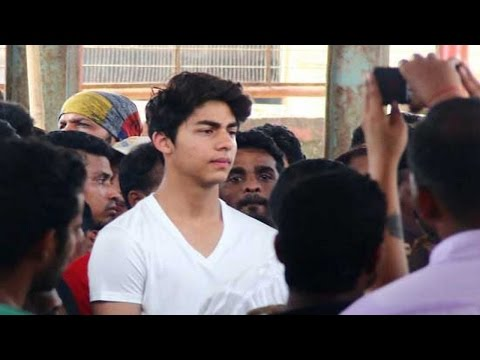 Aryan Khan Perfect COPY of father Shahrukh Khan | UNCUT FOOTAGE