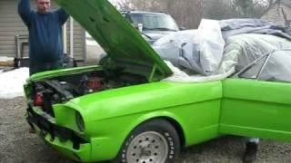 1965 Mustang First Start Up