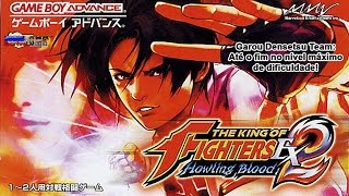 (Game Boy Advance) The King Of Fighters EX 2: Howling Blood  - Garou Team Gameplay [Full Difficulty]