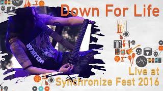 DOWN FOR LIFE live at Synchronize Fest - 29 Oktober 2016