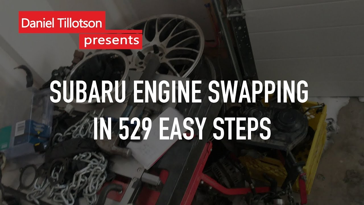 How to swap a JDM EJ205 in under 1 minute