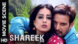 Jimmy Sheirgill & Mahie Gill share a special moment | Shareek | Movie Scene