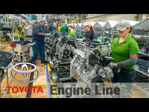 2017 Toyota Motor Manufacturing - Production Powertrain and  Engines