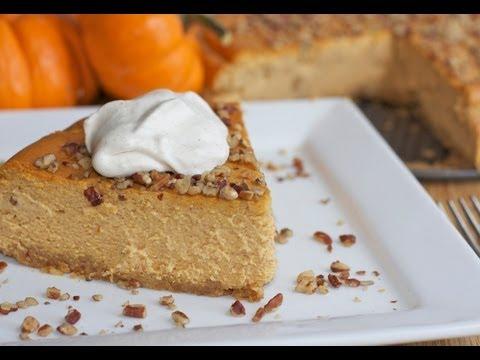 Easy Pumpkin Pie Cheesecake Recipe – How To Make Pumpkin Cheesecake