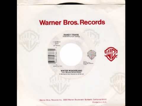 "Randy Travis – ""Winter Wonderland"" (Warners) 1989"