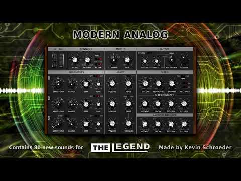 """""""Modern Analog"""" Soundset for The Legend"""