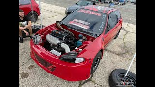 #IMALLMOTOR - La Callaita Civic Goes 9's! K-Series Stock Block...