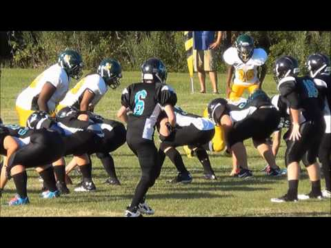 Dylan Gandy Combined Highlights Surfside Football 2013 HD