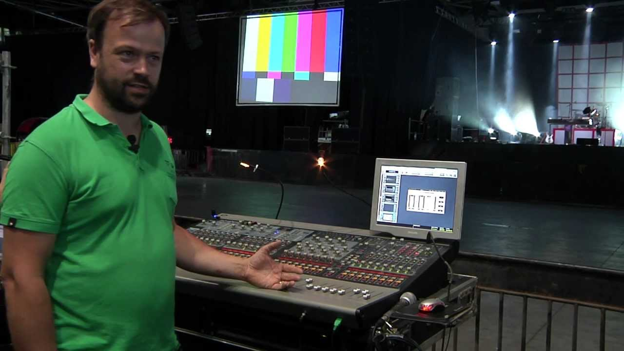 Live Sound Mixing: Andrew Thornton - F O H Engineer for Mark Ronson