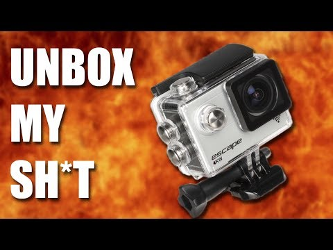 UNBOX MY SH*T | Kitvision Escape 4KW Action Camera #1
