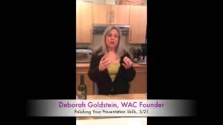 WAC Presentaion Skills, Part 3 Thumbnail