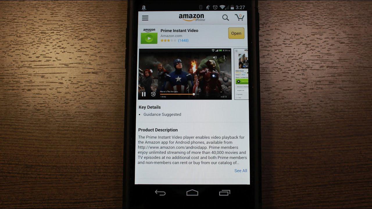Amazone Prime Instant Video