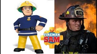 Fireman Sam Characters in Real Life 2018
