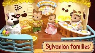 Кафе-мороженое Sylvanian Families! Мультяшный обзор новинки 2016