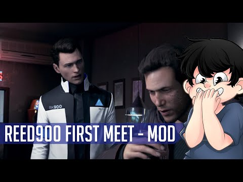 RK900 is the best detective ever! - Reed900 Mod | Detroit: Become Human |
