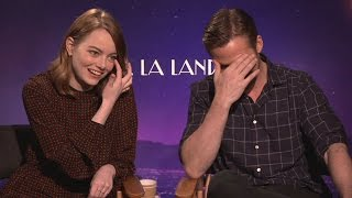 Emma Stone And Ryan Gosling | Interview  La La Land