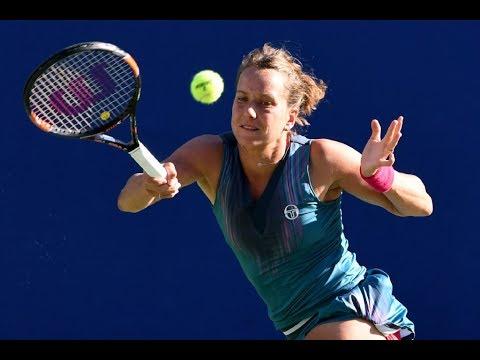 Toray Pan Pacific Open Second Round   Barbora Strycova vs Johanna Konta   WTA Highlights