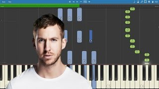 Calvin Harris - My Way - Piano Tutorial