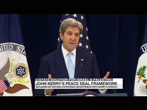 John Kerry's 2-State solution for Israel & Palestine