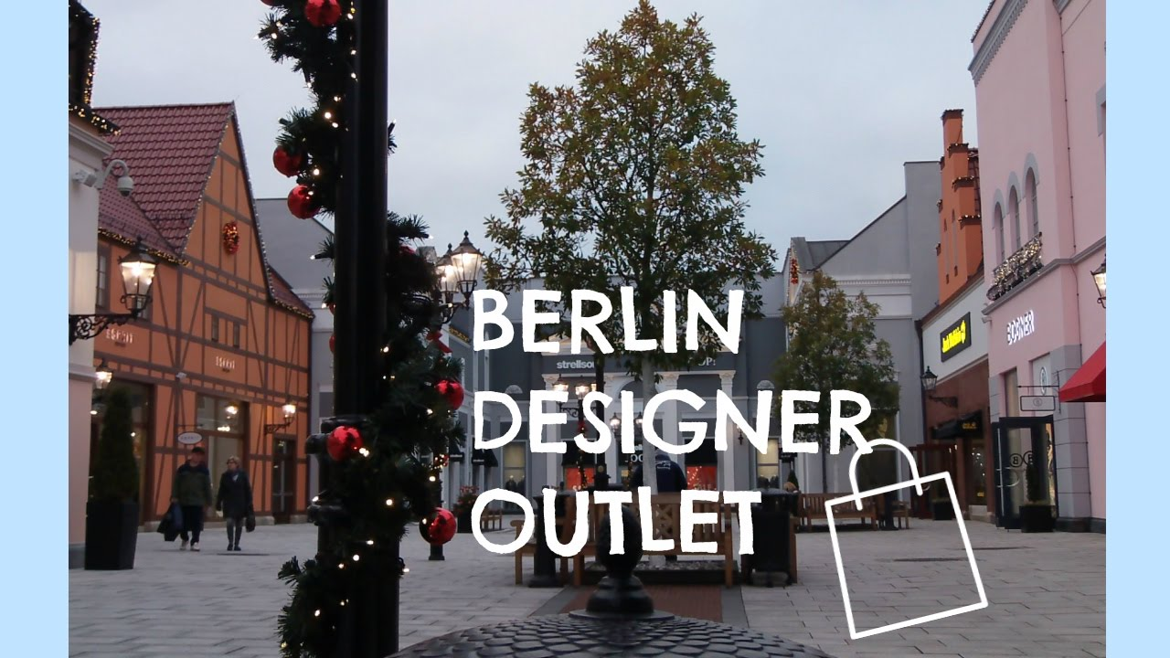 e8c273c542905c Berlin Designer Outlet - YouTube