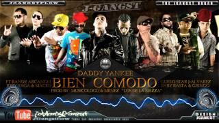 Daddy Yankee Ft. Varios Artistas - Bien Comodo con Letra HD Official Estreno Nuevo Reggaeton 2011