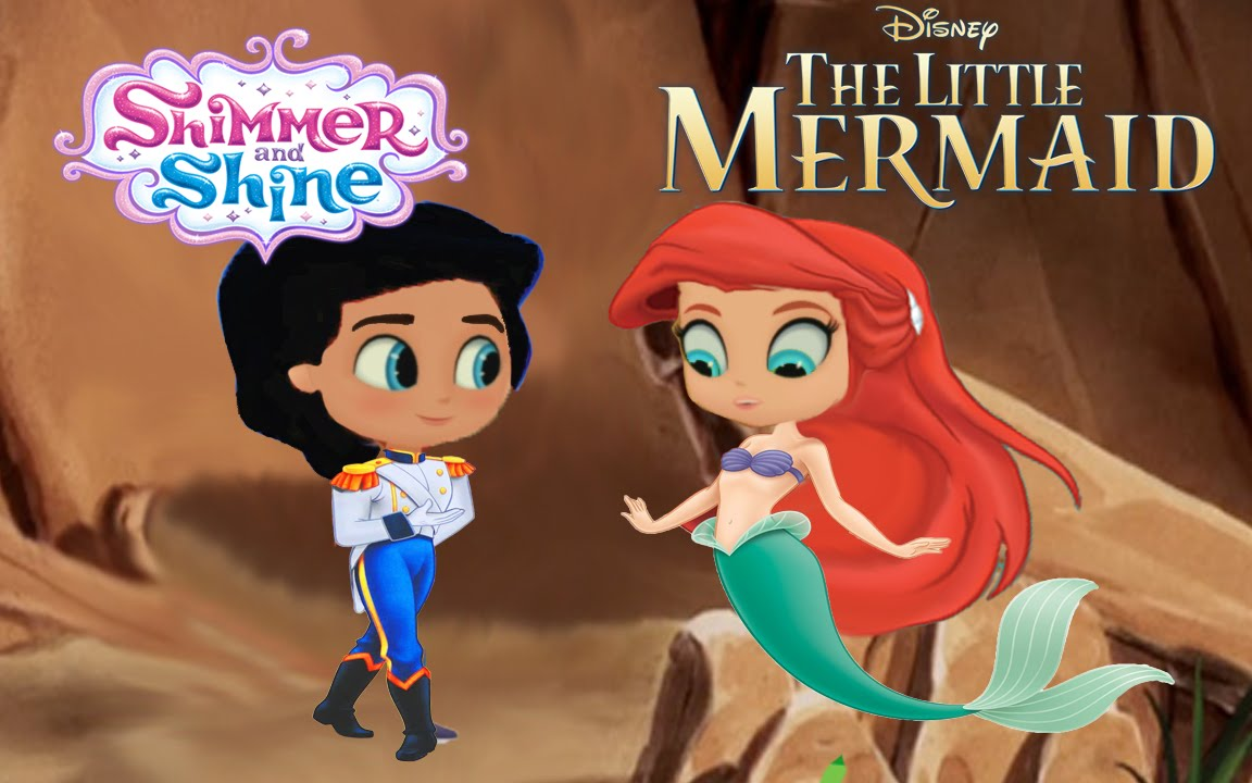 Shimmer and Shine Episode Color Disney The Little Mermaid