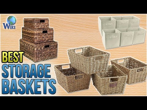 10 Best Storage Baskets 2018