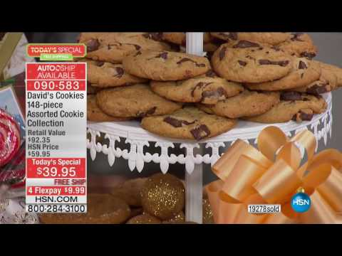 HSN | Holiday Treats featuring David's Cookies 11.29.2016 - 05 PM