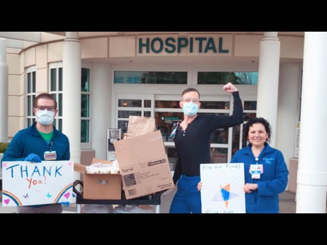 Novato Woman Launches Grassroots Fundraiser to Help Restaurants, Emergency Workers (Video)