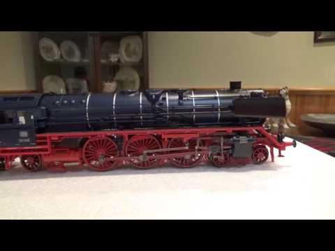 WOW Unboxing New Marklin Blue BR 01 Steam Locomotive 39009