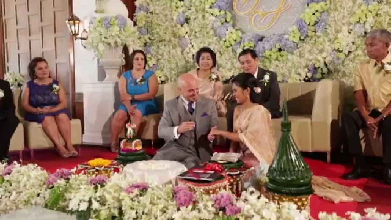 Jaree Amp John Thai Wedding Ceremony Full VDO