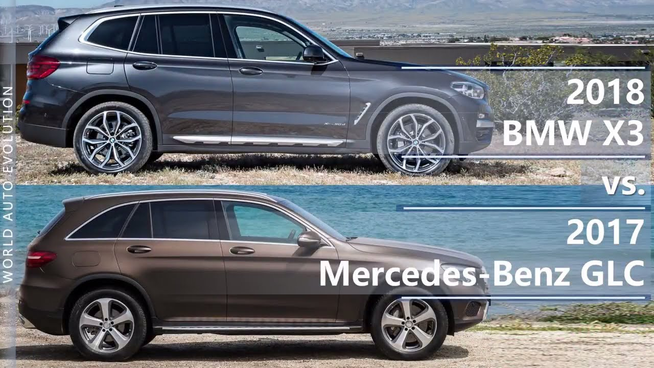 2018 BMW X3 vs 2017 Mercedes Benz GLC technical comparison