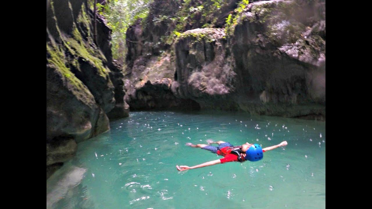 Greatest Day Ever Canyoneering Kawasan Falls Badian