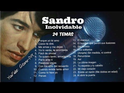 SANDRO de AMERICA  INOLVIDABLE24 Temas