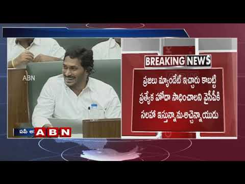 TDP Cheif Chandrababu Naidu Speech Over AP Special Status In Assembly   ABN Telugu