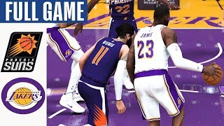 Phoenix Suns vs LA Lakers Full Game Highlights! January 1, 2020 NBA Season | NBA 2K20