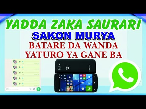 Whatsapp:/ Yanda zaka saurari sakon murya a whatsapp batare da wanda yaturo maka ya saniba,