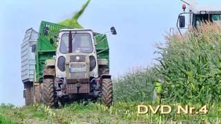 DVD Nr.4  ( DDR Landmaschinen in der Maisernte ! )